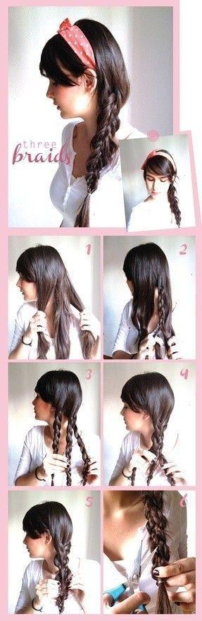 Зачіски з кісок