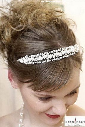 Весільні зачіски з чубчиком