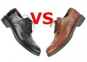 Чорні або коричневі черевики - що вибрати чоловікові?