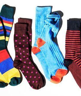 Кольорові чоловічі шкарпетки - сучасний тренд в чоловічому стилі