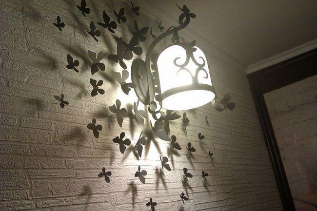 Декор: метелики на стіну своїми руками