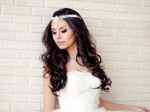 Романтичний образ: діадема у вигляді намиста. Фото з сайту beauty-proceduri.ru