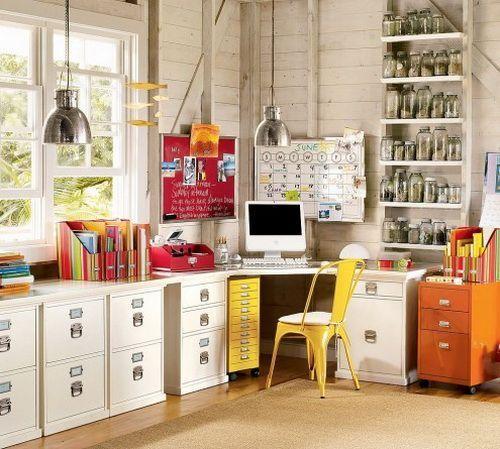Домашній офіс - 90 варіантів оформлення інтер`єру