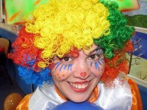 клоун Кнопа на день народження