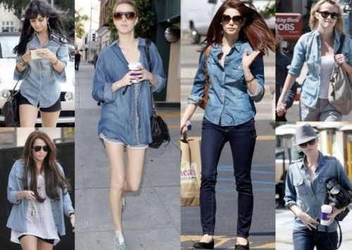 Як вибрати джинсову сорочку
