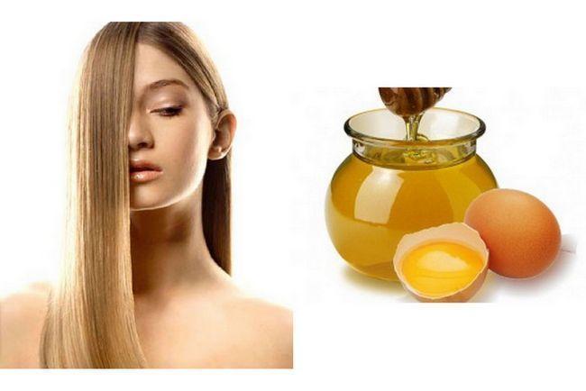 Маска для волосся з медом