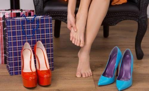 незручне взуття