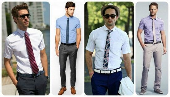 Як носити краватку з коротким рукавом