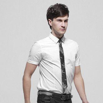 краватка з принтом