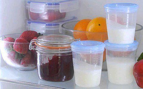 Як правильно зберігати їжу для немовляти