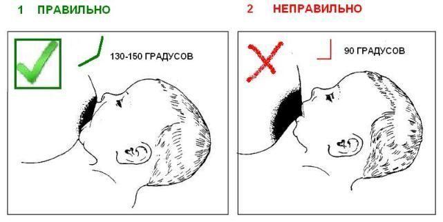 Як прикладати дитину до грудей правильно