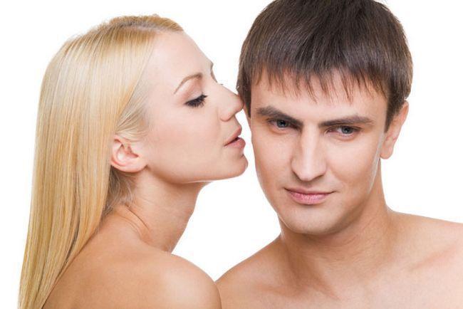 Як порушити чоловіка словами