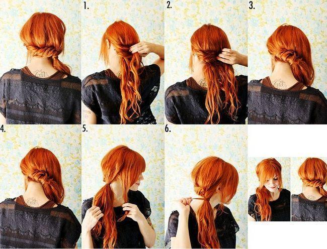 Зачіска з джгутом