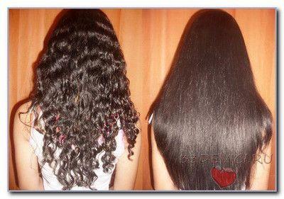 Кератинове випрямлення волосся