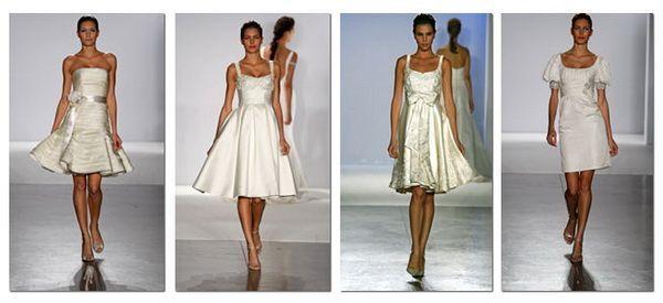Коротке весільне плаття - 200 найкрасивіших моделей