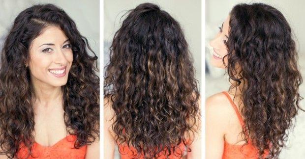 як зробити кучері на довге волосся