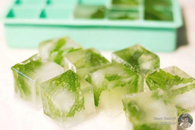Лід для обличчя від зморшок - рецепти