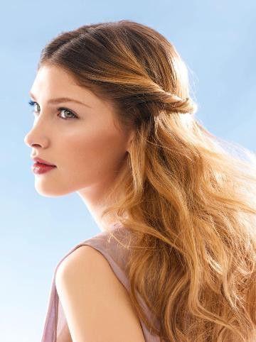 легкі зачіски на середні волосся