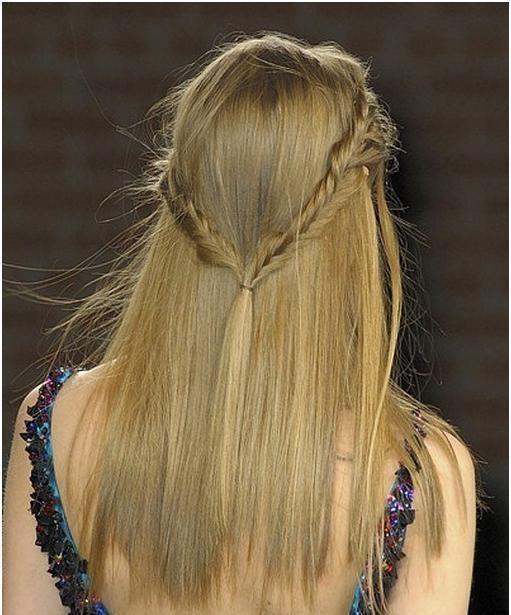 Швидкі зачіски на середні волосся
