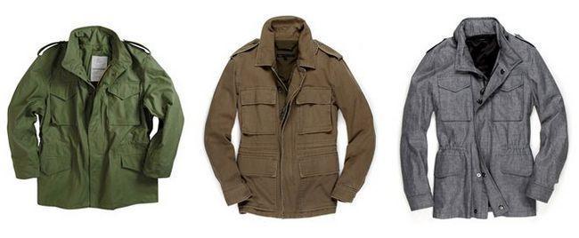 М-65: осіння чоловіча куртка