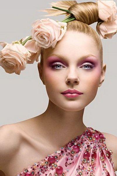 Макіяж для блакитних очей - 150 красивих варіантів
