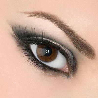 макіяж карих очей