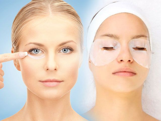 Маска для шкіри навколо очей від зморшок в домашніх умовах