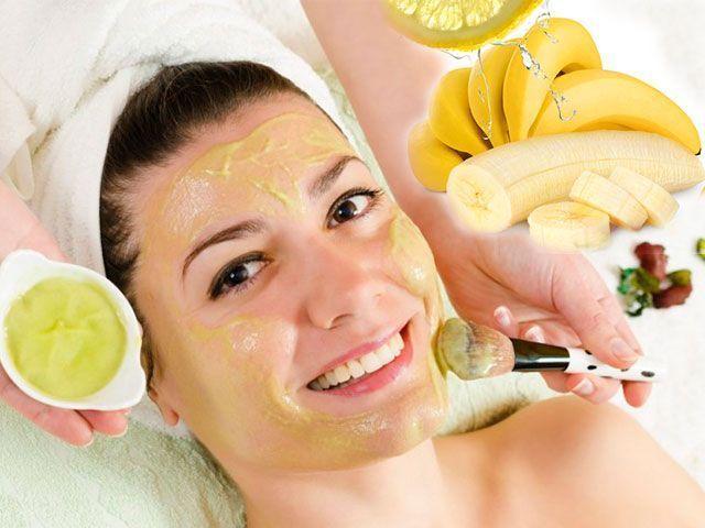 Маски для обличчя з банана в домашніх умовах