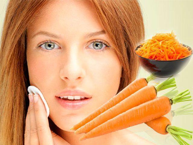Морквяна маска від прищів в домашніх умовах