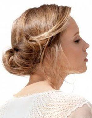 Зачіска ніжність на середні волосся