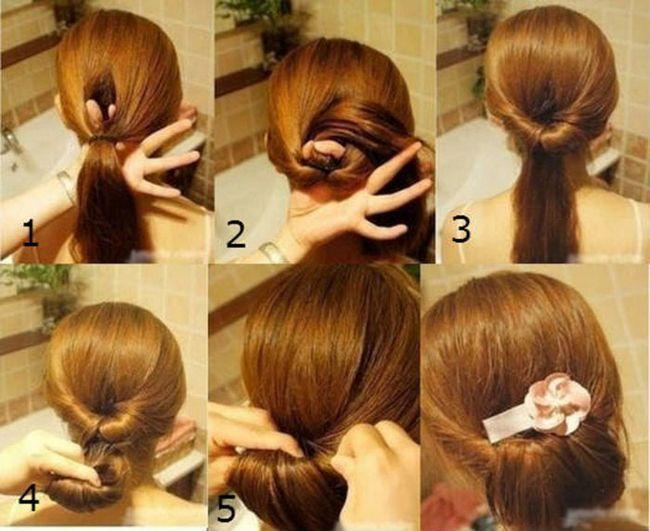 Як зробити зачіску ніжність