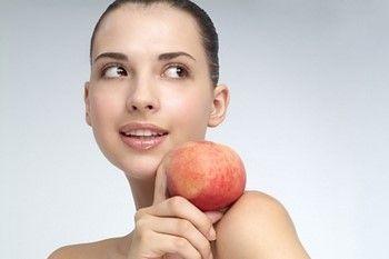 Маски з персиків для особи: результат