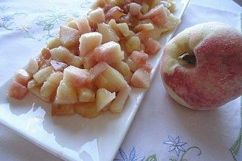 Маски з персиків для особи: рецепти