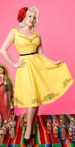 Сукня у стилі ретро