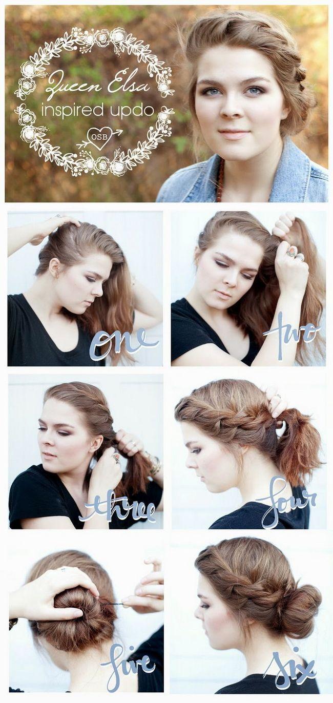 Плетіння волосся середньої довжини - кращі фото і відео