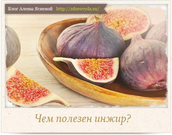 Корисні властивості інжиру - плодів райського дерева для нашого здоров`я