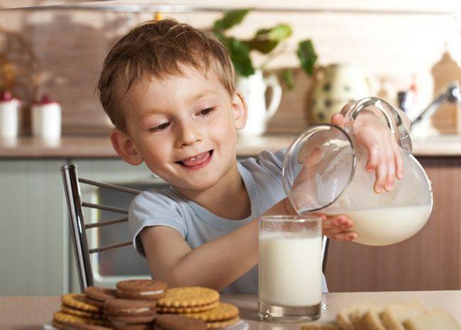 Користь козячого молока для дитини