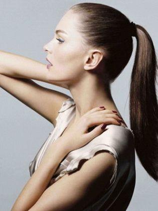 Зачіска хвіст - 100 фото
