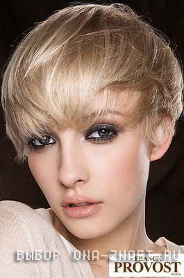 зачіски для круглого особи