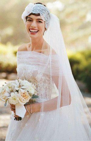 Аксесуари для весільної зачіски на коротке волосся