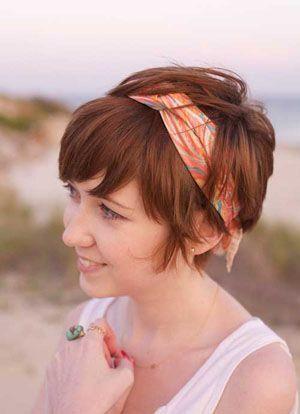 Зачіски на коротке волосся на кожен день