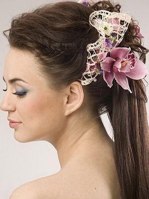 Зачіски з начосом - 150 прекрасних варіантів