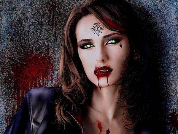 Фото з дівчиною-вампіром в «Однокласники» - ознака неординарної особистості