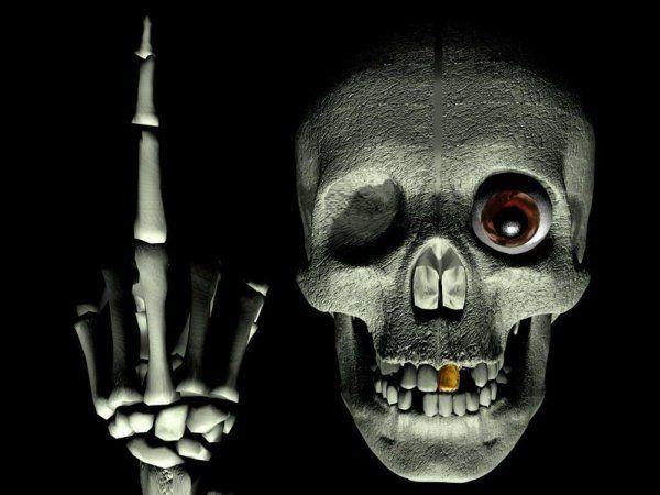 Аватарка з черепом є не тільки символом смерті, а й життєвої енергії