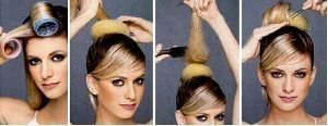 Збираємо середні волосся в зачіску