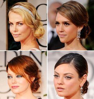 Прості жіночні зачіски для середніх волосся
