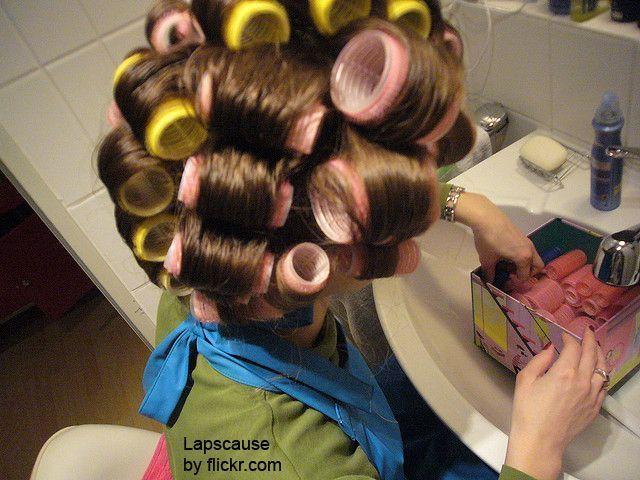 Бігуді-липучки можуть бути різних діаметрів для будь-якої довжини волосся