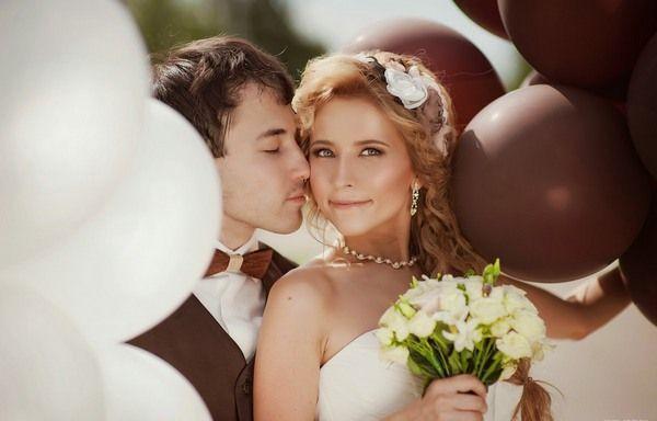 Оригінально і розкішно - шоколадна весілля. Фото з сайту kovshova.ru