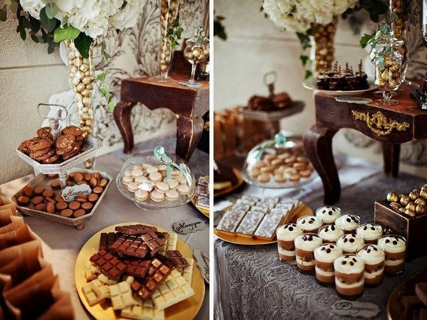 Ідея оформлення кенді-бару на весілля. Фото з сайту nigrechokphoto.blogspot.com