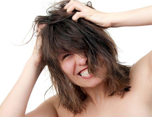 Шампунь для чутливої шкіри голови і сухого волосся